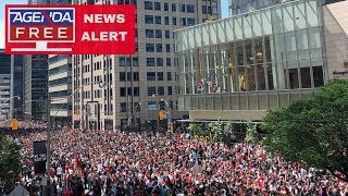 Shooting Reported at Toronto Raptors Parade - LIVE COVERAGE
