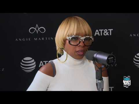 First Look: Mary J Blige talks to Angie Martinez