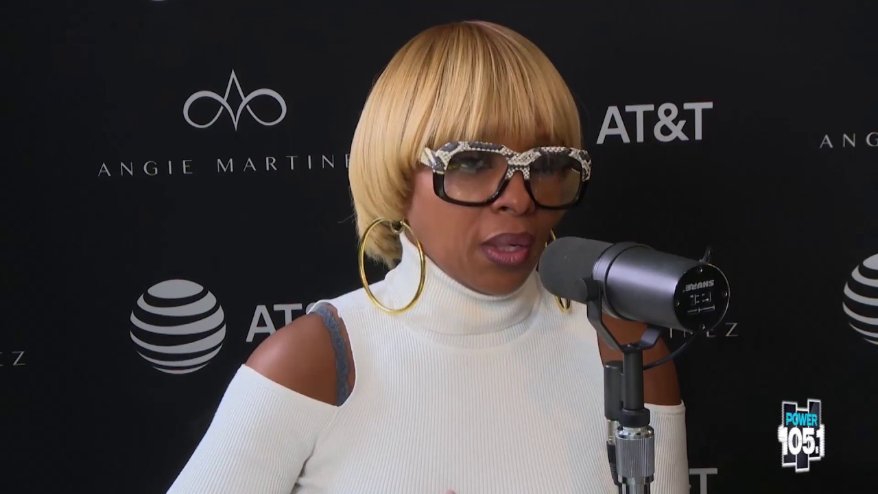 Image result for mary j blige on angie martinez 2017