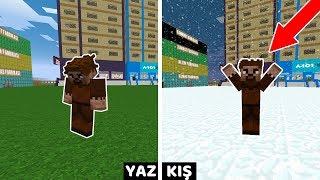 ŞEHRE KAR YAĞIYOR! 😱 - Minecraft