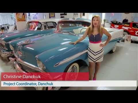 1956 Chevy Bel Air Side Stainless Trim Danchuk Usa Youtube