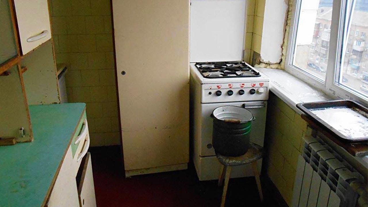 Почему в советских домах строили такие маленькие кухни? - YouTube