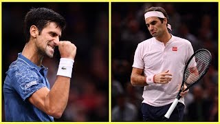 107 - Djokovic vs Federer - SF Paris 2018 - Extended