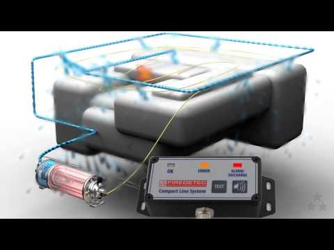 FireDETEC Compact Line System - Vehicle engine fire suppression system