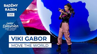 Viki Gabor - Move the World (Junior Eurovision 2020 Common Song)