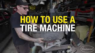 How to Use a Tire Machine - Eastwood Swing Arm Tire Changer