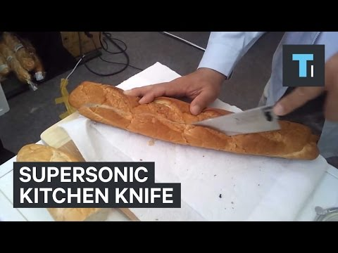 Supersonic kitchen knife