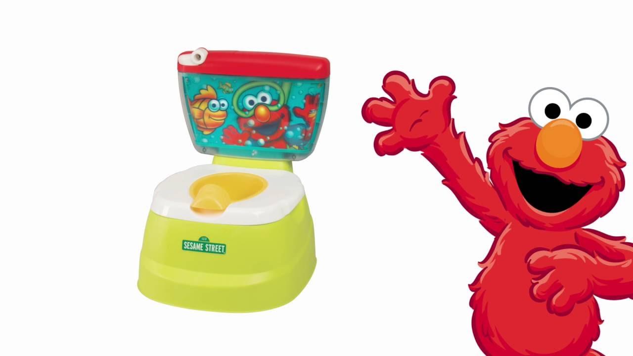 Sesame Street Elmo Adventure Potty Chair Youtube