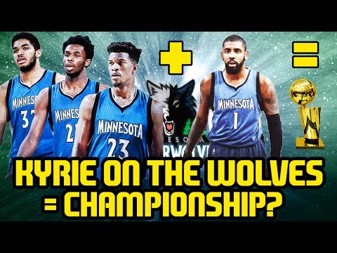 KYRIE IRVING ON THE TIMBERWOLVES=CHAMPIONSHIP? NBA 2K17 MYLEAGUE SIMULATION