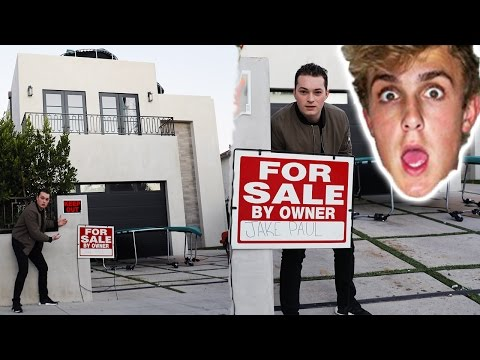 I PUT JAKE PAUL'S HOUSE UP FOR SALE!
