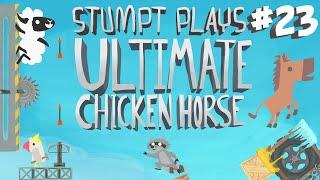 Ultimate Chicken Horse - #23 - Frozen Waterfalls