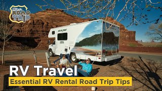 Essential RV Rental Road Trip Tips