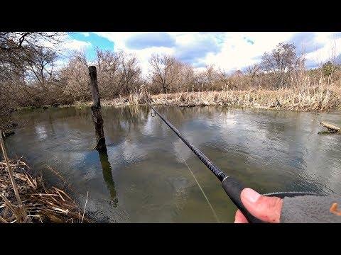 Пока на нерест не пошла, она клюет. Рыбалка весной на спиннинг. Ловля Щуки.
