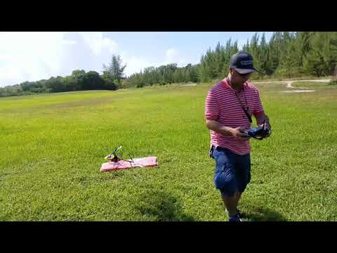 Eyal Lee and Ofer Effy flying the T-REX 450 at Florida University off Biscayne Bay August 19th 2017