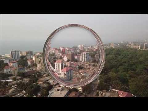 Over Conakry 2 - dji mavic pro