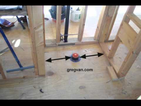 Critical Wall Measurements Around Your Toilet Rough Framing Tips You