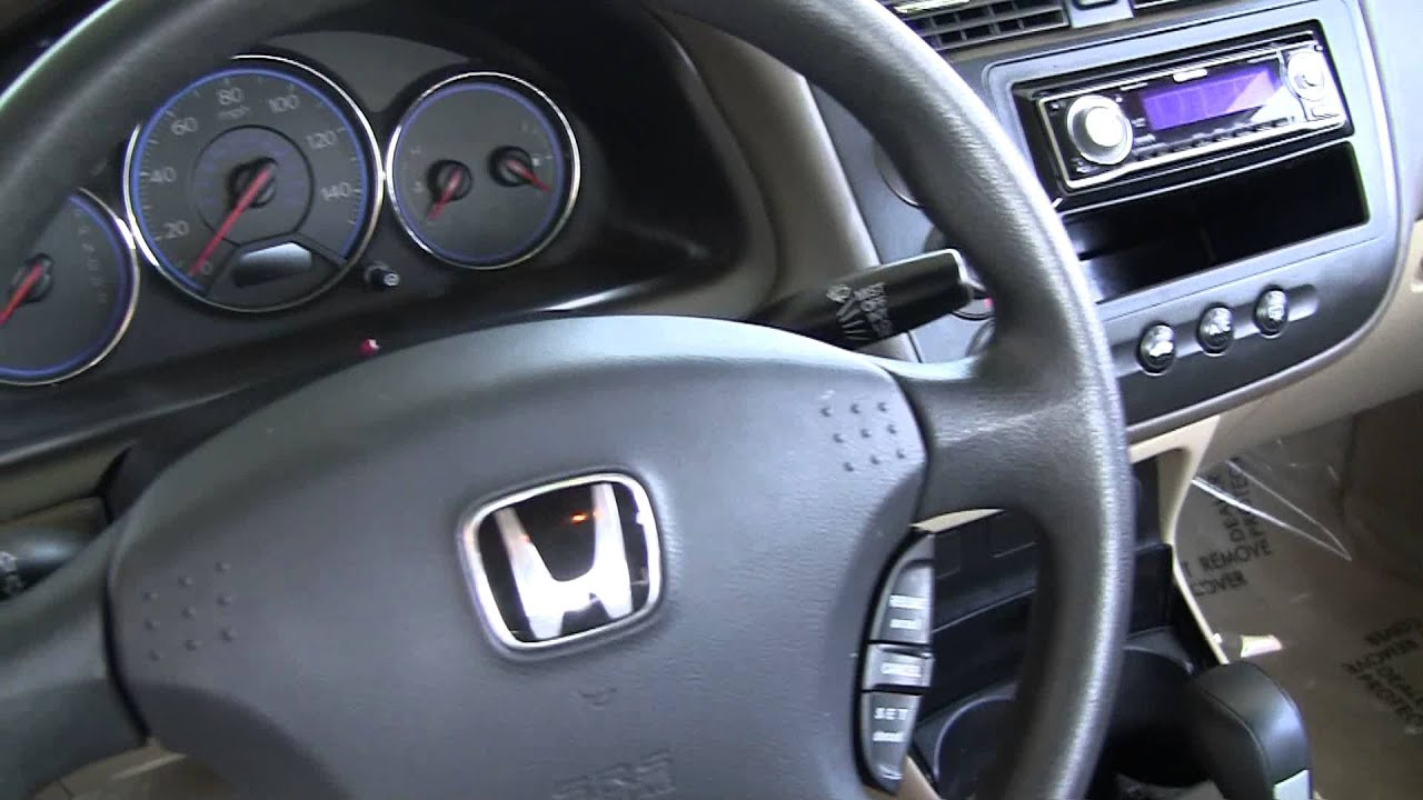 Honda 2004 Civic LX 4H580228T  YouTube
