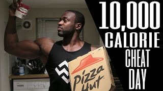 10,000 Calorie Challenge | Piece of Cake