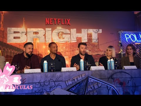 Bright Press Conference: Will Smith, Joel Edgerton, Noomi Rapace, Lucy Fry, Edgar Ramirez