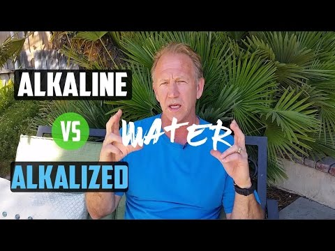 What's The Difference - Alkaline Vs Alkalized Water?
