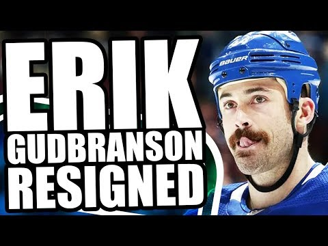 ERIK GUDBRANSON RESIGNS: $4,000,000 AAV FOR VANCOUVER CANUCKS DEFENCEMAN - Potential Sign & Trade?