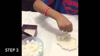 How to Make an Ice Igloo with Sugar Cubes!