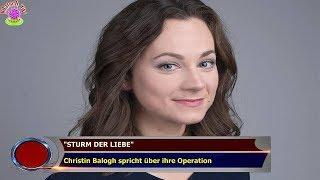 """""""STURM DER LIEBE""""  Christin Balogh spricht über ihre Operation"""