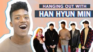 Hanging Out w/ Han Hyun Min | Interview & Claw Machine