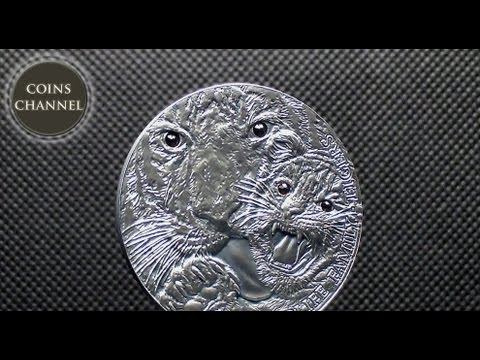 $1 Silver Coin Niue 2013 - Wildlife Family - Tigers