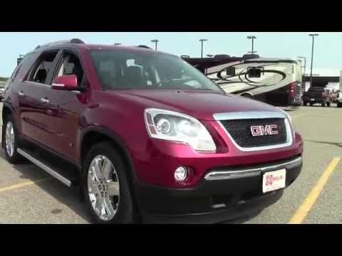 2010 GMC Acadia AWD SLT2 **One Owner, Local Trade**  2G140292A
