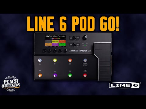 A Closer Look at... the NEW Line 6 POD Go! Your ultimate pedal board solution!