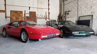 Ferrari 328 vs C4 Corvette