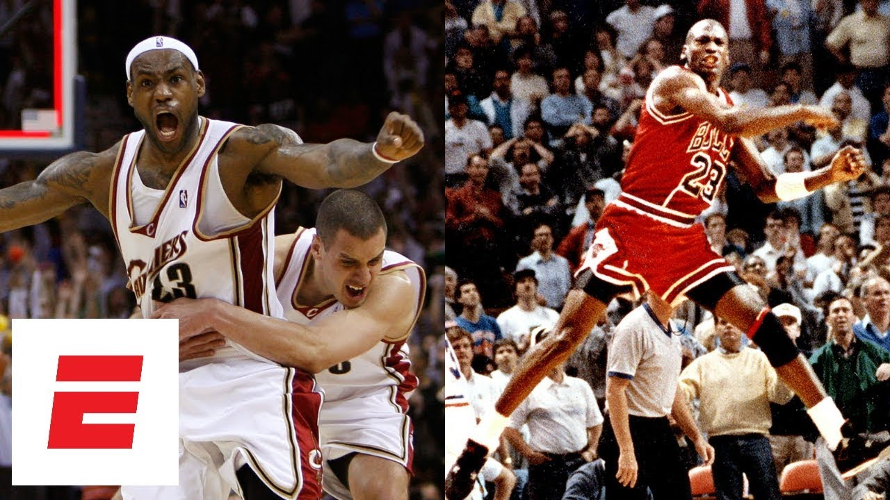8edca624c058 All of LeBron James  and Michael Jordan s NBA playoff game-winning shots