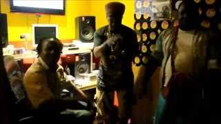 Luciano & Jigsy King  holding a vibes after voicing combi  Dem Nuh Ready Yet  for Run Things Records