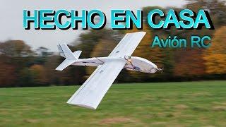 Cómo hacer un avión RC | Avión de poliestireno hecho en casa