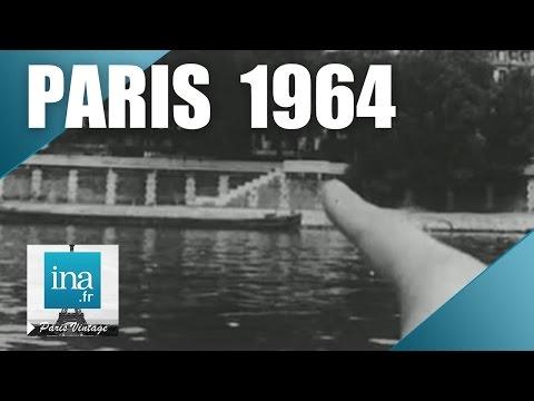 Paris : les quais de Seine avant les voies sur berge   Archive INA