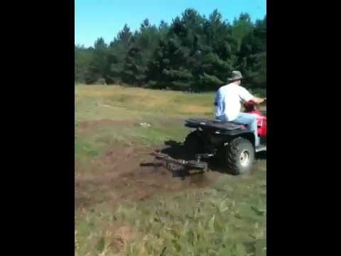 Big Buck Tools ATV Chisel Plow YouTube