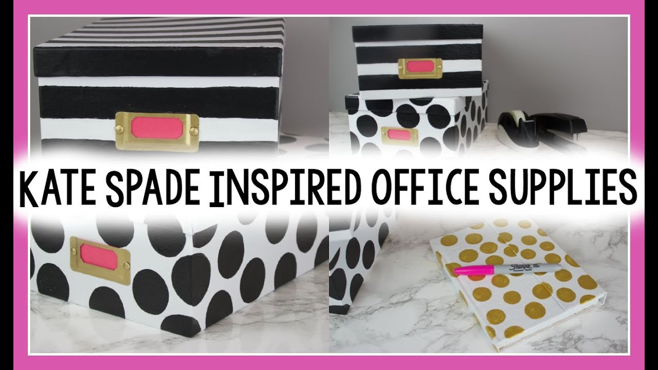Diy Kate Spade Inspired Office Supplies You Interior Design Rooms Decor Modern