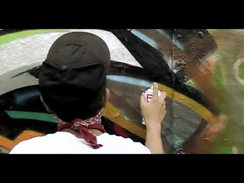 Street Art and Graffiti in Pondok Indah | Polim | Jakarta City