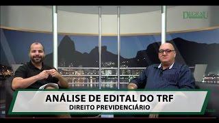 O Professor Henrique Sartori faz a análise do conteúdo programático...