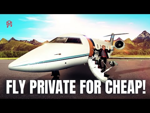 HOW TO FLY ON A PRIVATE JET FOR CHEAP!