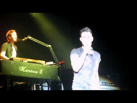 Maroon 5 Musikfest 2011 - Misery ( well a clip of it )