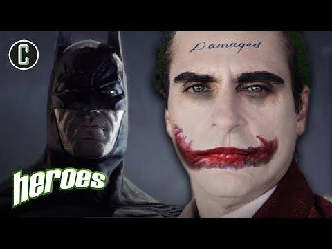 Should Batman Appear In the Joker Movie? - Heroes