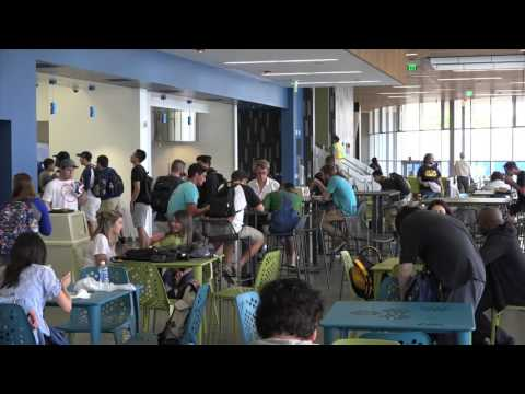 San Diego Mesa College Commons B-Roll Footage, part 2
