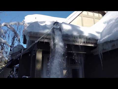 Diy Avalanche Roof Snow Removal Tool Doovi