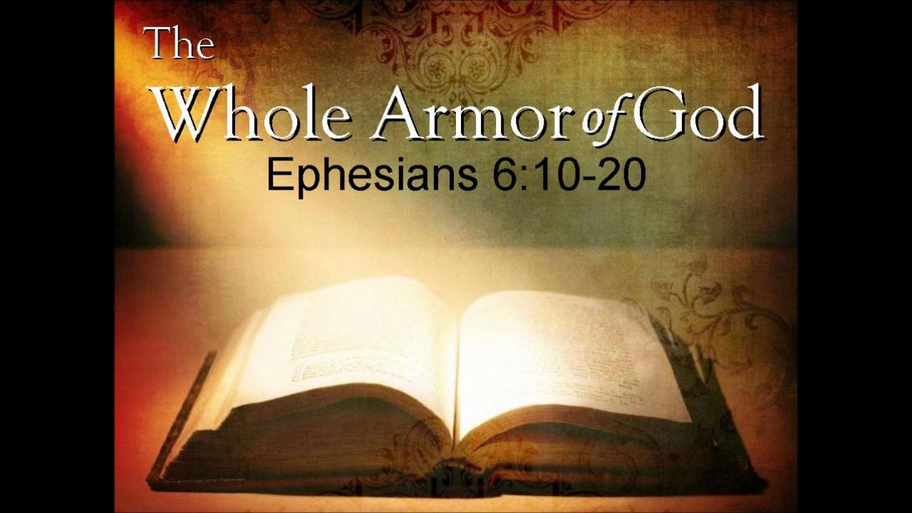 Ephesians 610  Power Up!  Redeeming God