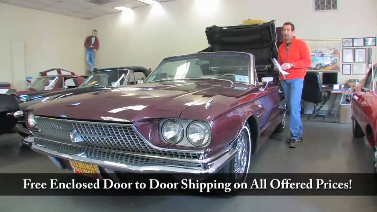 1966 Ford T Bird Convertible For With Test Drive Driving Sounds And Walk Through Video You