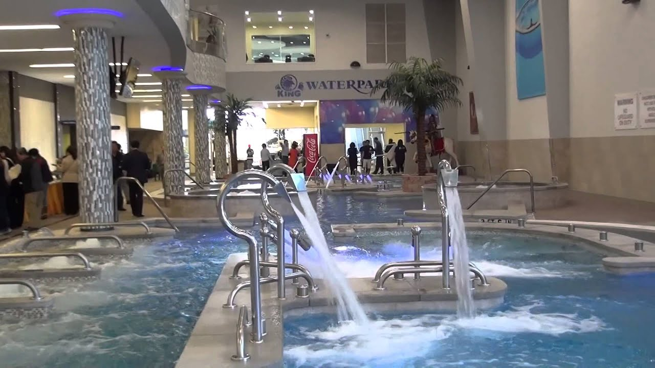 King Spa King Water Park Grand Opening Youtube