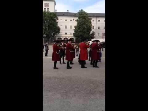 Post Horns at 2015 Blasmusik festival in Salzburg