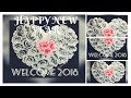 NEW YEAR 2018❤️/ WELCOME 2018  ❤️/ Last video of 2017 🗓❤️  / ONE STROKE PAINTING